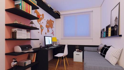 Dormitorio - Fachada - Potiguara - 1015 - 8