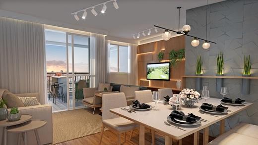 Living - Apartamento à venda Rua Nicola Rollo,Morumbi, São Paulo - R$ 583.500 - II-18404-30630 - 6