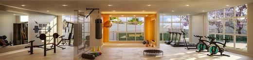 Fitness - Apartamento à venda Rua Nicola Rollo,Morumbi, São Paulo - R$ 583.500 - II-18404-30630 - 8