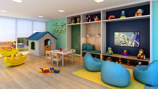 Espaco kids - Apartamento à venda Rua Caramuru,Saúde, São Paulo - R$ 811.900 - II-18477-30779 - 6