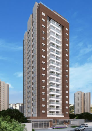 Fachada - Apartamento à venda Rua Caramuru,Saúde, São Paulo - R$ 811.900 - II-18477-30779 - 1