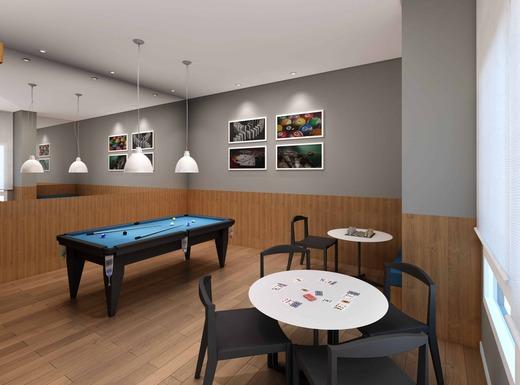 Salao de jogos - Apartamento à venda Rua Caramuru,Saúde, São Paulo - R$ 811.900 - II-18477-30779 - 5