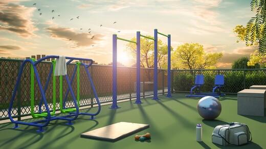 Fitness ao ar livre - Fachada - Viva Vida Tranquilidade - Fase 1 - 1661 - 13