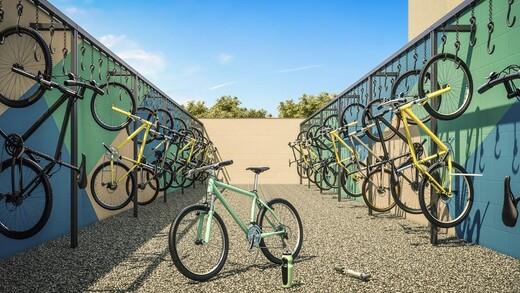 Bicicletario - Fachada - Viva Vida Tranquilidade - Fase 1 - 326 - 16