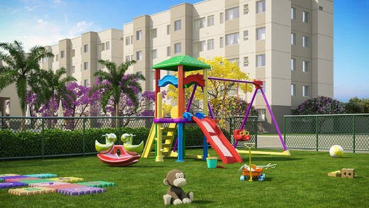 Playground - Fachada - Viva Vida Tranquilidade - Fase 1 - 1661 - 11