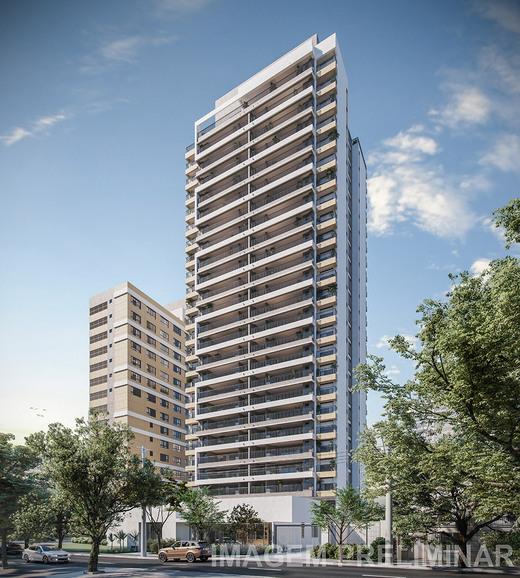 Fachada - Apartamento à venda Rua Vergueiro,Ipiranga, São Paulo - R$ 1.314.000 - II-18501-30819 - 1