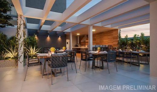 Churrasqueira - Apartamento à venda Rua Vergueiro,Ipiranga, São Paulo - R$ 1.314.000 - II-18501-30819 - 9