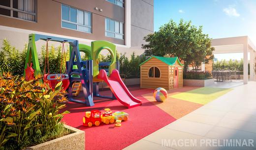 Playground - Apartamento à venda Rua Vergueiro,Ipiranga, São Paulo - R$ 1.314.000 - II-18501-30819 - 11