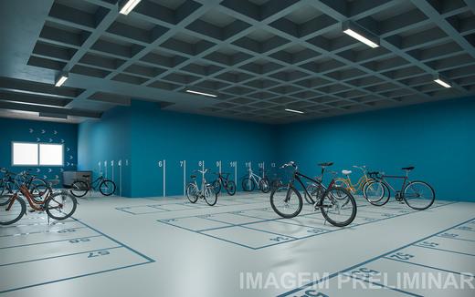 Bicicletario - Apartamento à venda Rua Vergueiro,Ipiranga, São Paulo - R$ 1.314.000 - II-18501-30819 - 12