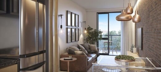 Living - Fachada - Due Suite - 327 - 3