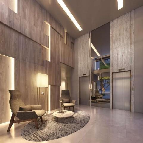 Hall - Studio à venda Rua Otávio Tarquínio de Sousa,Campo Belo, Zona Sul,São Paulo - R$ 378.751 - II-18657-31115 - 4