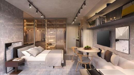 Living - Studio à venda Rua Otávio Tarquínio de Sousa,Campo Belo, Zona Sul,São Paulo - R$ 378.751 - II-18657-31115 - 5