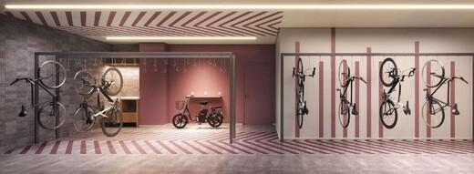 Bicicletario - Studio à venda Rua Otávio Tarquínio de Sousa,Campo Belo, Zona Sul,São Paulo - R$ 378.751 - II-18657-31115 - 11
