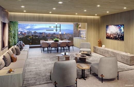 Living - Fachada - Haus Mitre Santa Cruz - Residencial - 1104 - 4