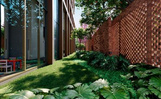 Jardim - Fachada - The Frame Vila Nova Conceição - 985 - 11
