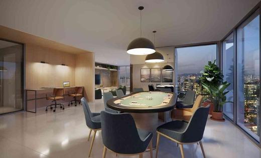 Sala de jogos - Fachada - Vista Campo Belo Residence - 996 - 13