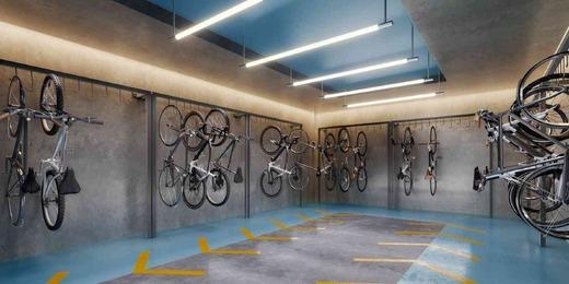Bicicletario - Fachada - Vista Campo Belo Residence - 996 - 16