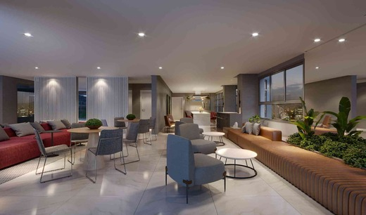 Salao de festas - Fachada - Vista Campo Belo Residence - 996 - 11