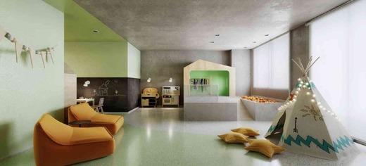 Brinquedoteca - Fachada - Vista Campo Belo Residence - 996 - 14