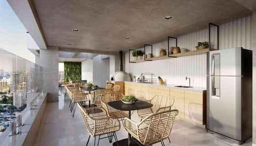 Espaco gourmet - Fachada - Vista Campo Belo Residence - 996 - 12