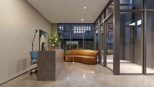 Hall - Studio à venda Rua Barão do Triunfo,Campo Belo, Zona Sul,São Paulo - R$ 318.860 - II-18852-31431 - 3