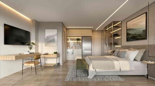 Dormitorio - Studio à venda Rua Barão do Triunfo,Campo Belo, Zona Sul,São Paulo - R$ 318.860 - II-18852-31431 - 4