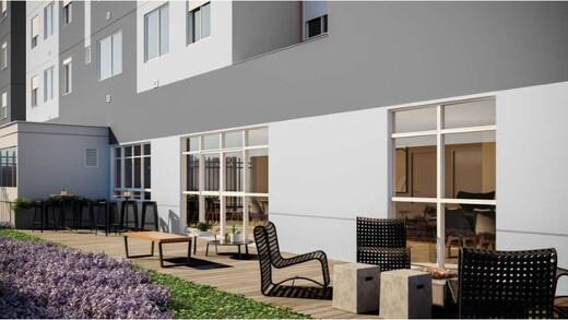 Lounge externo - Fachada - Dom Centro - Breve Lançamento - 988 - 10