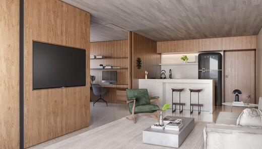 Living - Fachada - Esquina Pinheiros - Residencial - Breve Lançamento - 1044 - 6
