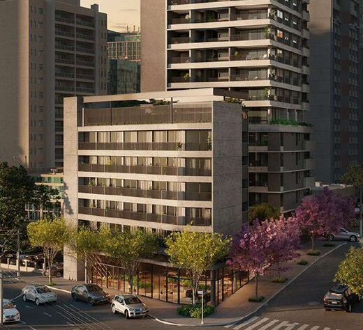 Portaria - Fachada - Esquina Pinheiros - Residencial - Breve Lançamento - 1044 - 2