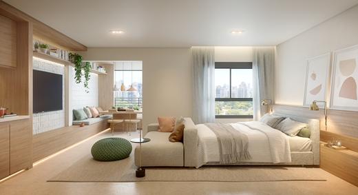 Dormitorio - Fachada - Essence Vila Mariana - 999 - 12