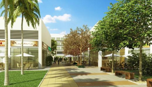 Acesso - Fachada - Campo Grande Office & Mall - 1690 - 4