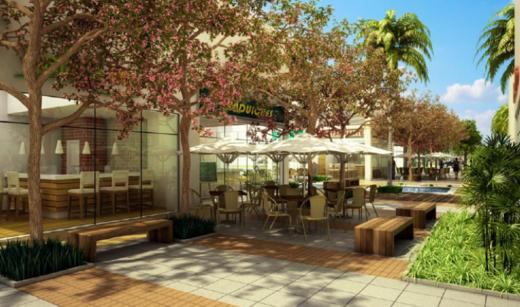 Terraco coletivo - Fachada - Campo Grande Office & Mall - 1690 - 8