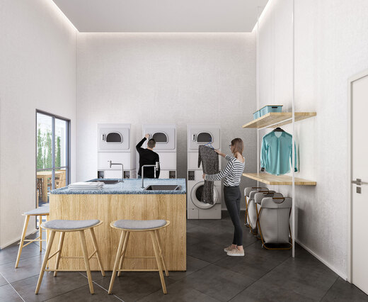 Lavanderia - Apartamento 2 quartos à venda Bela Vista, São Paulo - R$ 234.500 - II-18948-31596 - 4
