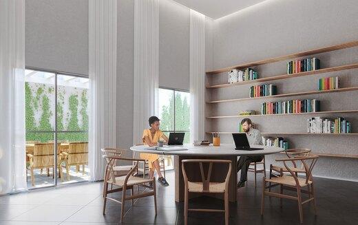 Coworking - Apartamento 2 quartos à venda Bela Vista, São Paulo - R$ 234.500 - II-18948-31596 - 3