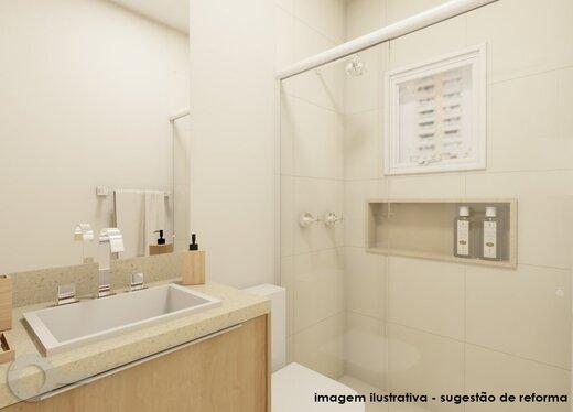 Banheiro - Apartamento 3 quartos à venda Alto da Lapa, São Paulo - R$ 632.000 - II-19122-31914 - 3