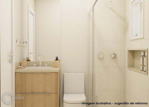 Banheiro - Apartamento 3 quartos à venda Alto da Lapa, São Paulo - R$ 632.000 - II-19122-31914 - 4
