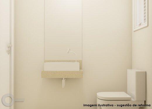 Banheiro - Apartamento 3 quartos à venda Alto da Lapa, São Paulo - R$ 632.000 - II-19122-31914 - 5