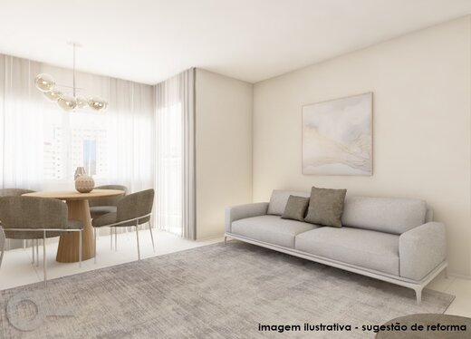 Living - Apartamento 3 quartos à venda Alto da Lapa, São Paulo - R$ 632.000 - II-19122-31914 - 8