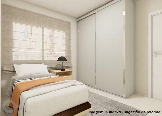 Quarto principal - Apartamento 3 quartos à venda Alto da Lapa, São Paulo - R$ 632.000 - II-19122-31914 - 10