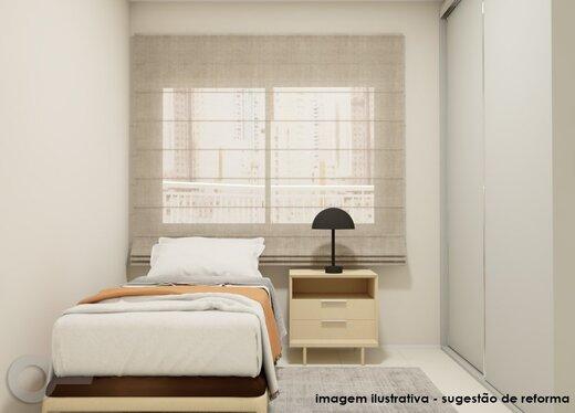 Quarto principal - Apartamento 3 quartos à venda Alto da Lapa, São Paulo - R$ 632.000 - II-19122-31914 - 11