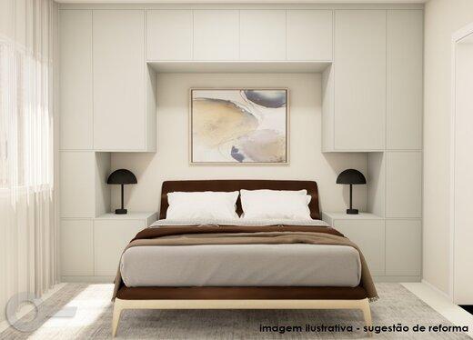 Quarto principal - Apartamento 3 quartos à venda Alto da Lapa, São Paulo - R$ 632.000 - II-19122-31914 - 12