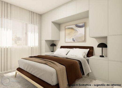 Quarto principal - Apartamento 3 quartos à venda Alto da Lapa, São Paulo - R$ 632.000 - II-19122-31914 - 13