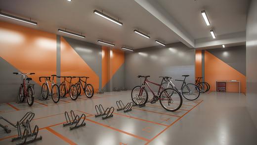 Bicicletario - Fachada - Metropolitan Freguesia do Ó - 1059 - 22