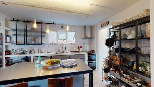 Cozinha - Apartamento à venda Rua Doutor Tomás Carvalhal,Paraíso, Zona Sul,São Paulo - R$ 1.250.000 - II-19209-32053 - 10
