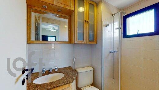 Banheiro - Apartamento à venda Rua Girassol,Vila Madalena, Zona Oeste,São Paulo - R$ 1.112.000 - II-19237-32081 - 4