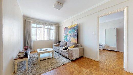 Living - Apartamento à venda Rua João Lourenço,Vila Nova Conceição, Zona Sul,São Paulo - R$ 625.000 - II-19246-32090 - 10