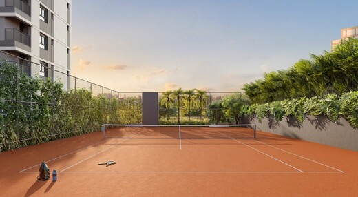 Quadra de tenis - Fachada - Praça Perdizes - 1086 - 12