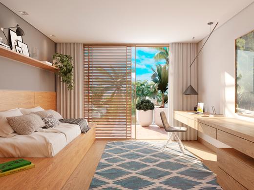 Dormitorio - Fachada - Casa Peri Jardim Botânico - 172 - 8
