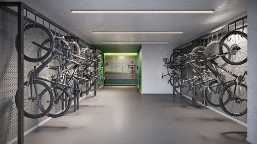 Bicicletario - Fachada - Praça Perdizes - 1086 - 10