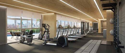 Fitness - Fachada - Balkon Campo Belo - 1016 - 5